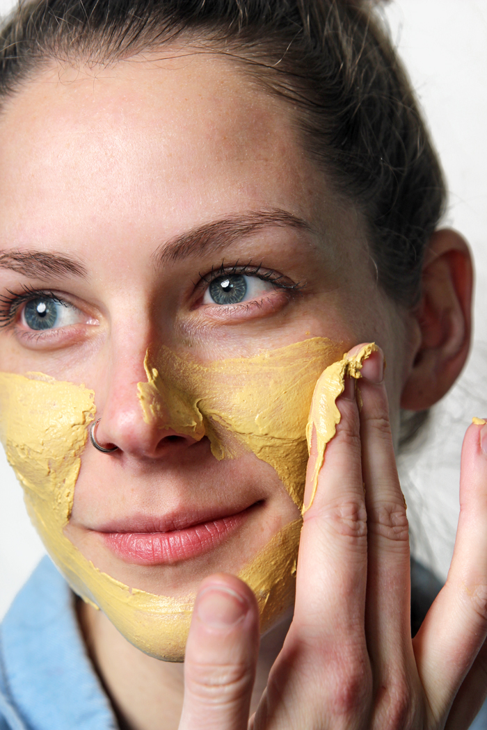 DIY Tumeric Clay Face Mask