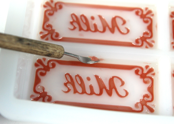 DIY Rose Clay Milk Soap Bars