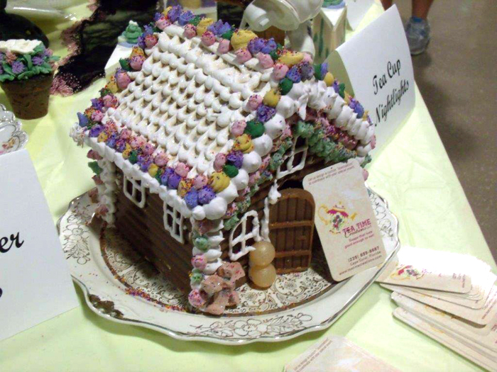 Tea Time Gingerbreadhouse