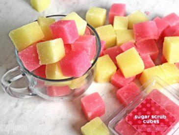 DIY Sugar Scrub Cubes2