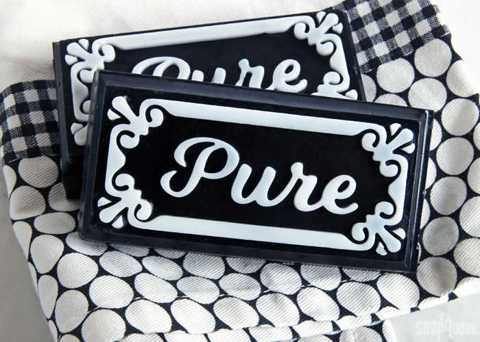 Pure Charcoal Melt & Pour Soap Bars DIY