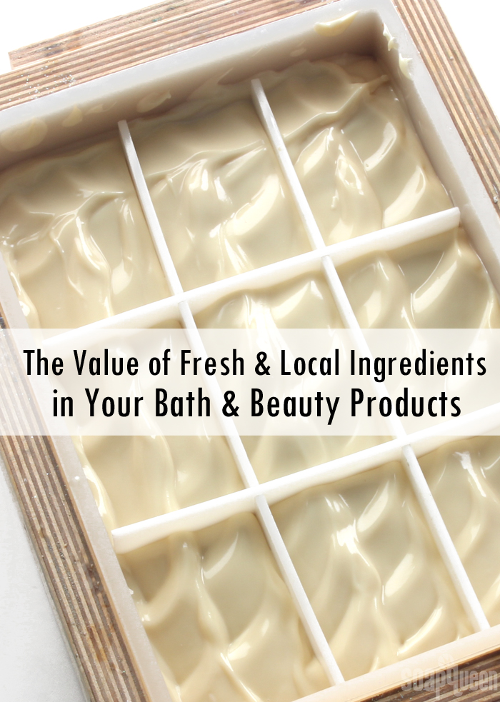 The Value of Fresh and Local Ingredients in Your Products
