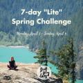 7-day _Lite_ Spring Challenge