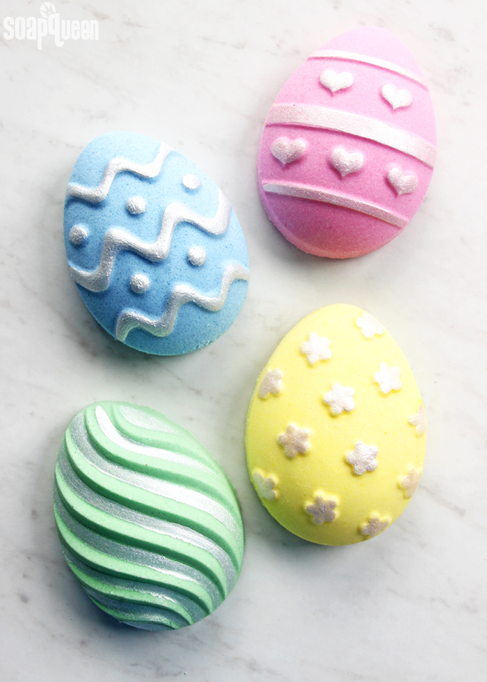 DIY Easter Egg Bath Bombs Soap Queen