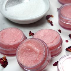 Floral Lip Scrub How to