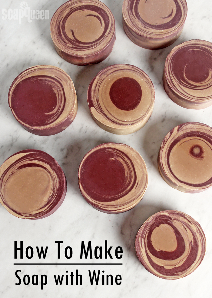 How to Make Soap with Wine