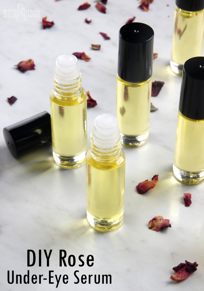 DIY Rose Under-Eye Serum