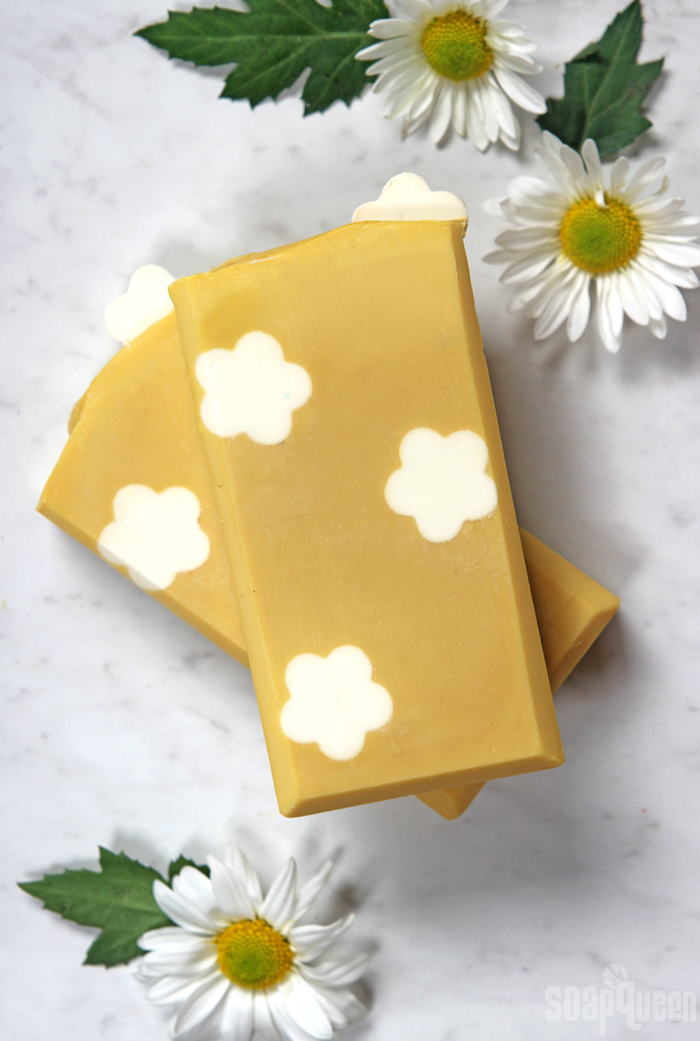 Daisy Cold Process Soap Tutorial