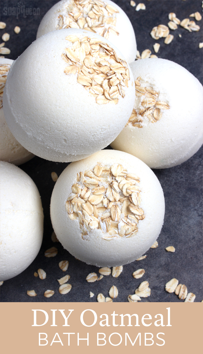 Diy oatmeal bath bombs soap queen solutioingenieria Choice Image