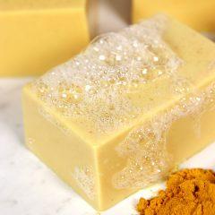 DIY Turmeric Soap
