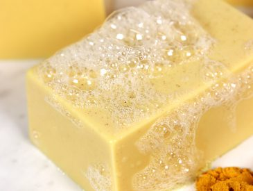 DIY Turmeric Soap