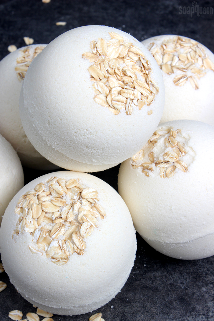 Oatmeal Bath Bomb Tutorial