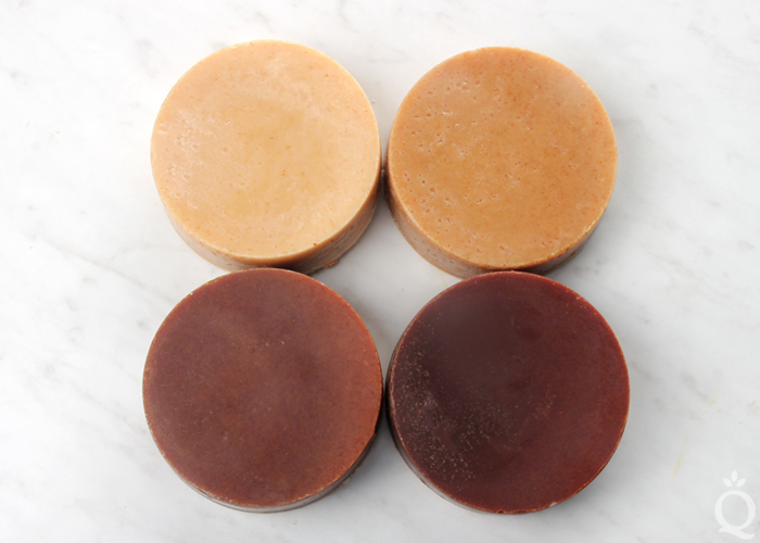 Turmeric Cold Process Soap Color Tests