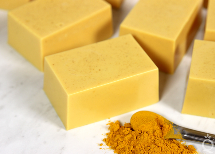DIY Turmeric Melt & Pour Soap