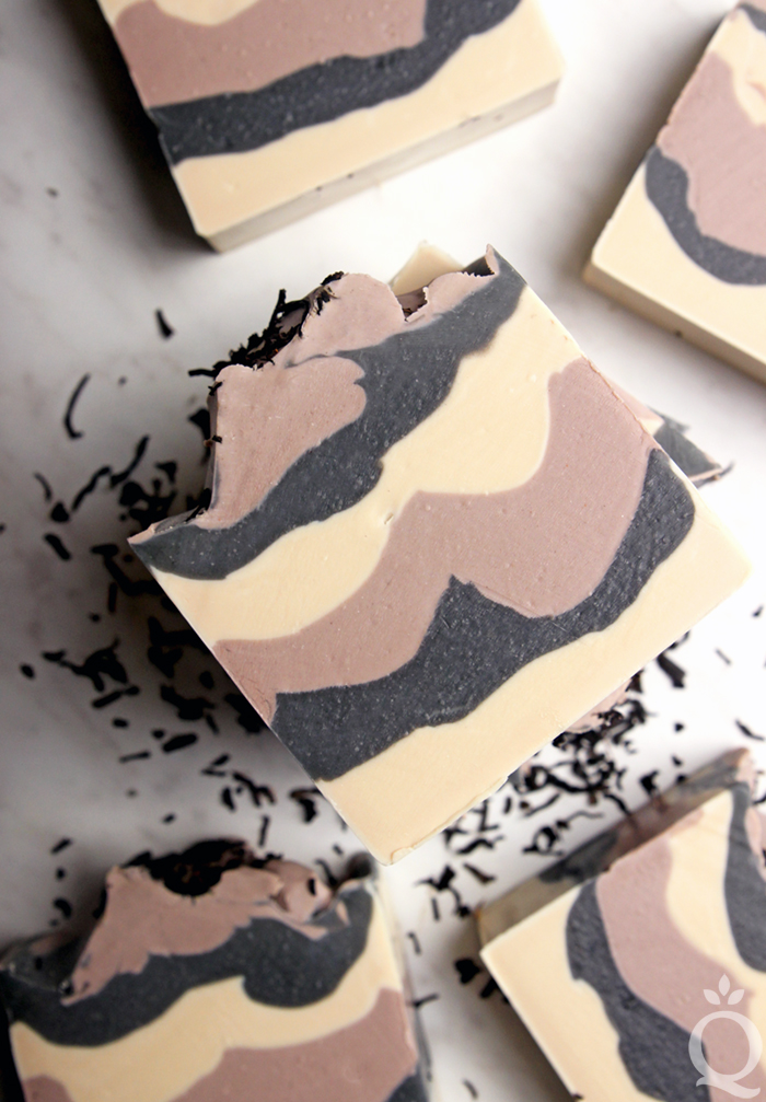 How to Make Black Tea Soap