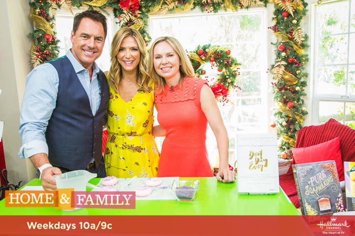 "Mark Steines and Debbie Matenopoulos welcome actor Anthony Michael Hall from the movie ""War Machine."" Actress Kari Matchett talks about her movie ""Maudie."" 2017 Best Home Cook semifinalist Joanne Ozug whips up bananas foster French toast dessert. The Soap Queen, Anne-Marie Faiola, shows us DIY donut sprinkle soaps. Nutritionist Joy Bauer makes delicious snacks with secret healthy ingredients. Kym Douglas is here with Father's Day gift ideas. Orly Shani creates a fashionable illusion belt. Shirley Bovshow has everything we need to know about synthetic grass. Paige Hemmis is making wedding parasols. We recap our 2017 Best Home Cook semifinalists and announce the two finalists. Our family answers viewer questions. Mark Steines and Debbie Matenopoulos welcome actor Anthony Michael Hall from the movie ""War Machine."" Actress Kari Matchett talks about her movie ""Maudie."" 2017 Best Home Cook semifinalist Joanne Ozug whips up bananas foster French toast dessert. The Soap Queen, Anne-Marie Faiola, shows us DIY donut sprinkle soaps. Nutritionist Joy Bauer makes delicious snacks with secret healthy ingredients. Kym Douglas is here with Father's Day gift ideas. Orly Shani creates a fashionable illusion belt. Shirley Bovshow has everything we need to know about synthetic grass. Paige Hemmis is making wedding parasols. We recap our 2017 Best Home Cook semifinalists and announce the two finalists. Our family answers viewer questions Credit: © 2017 Crown Media United States, LLC 