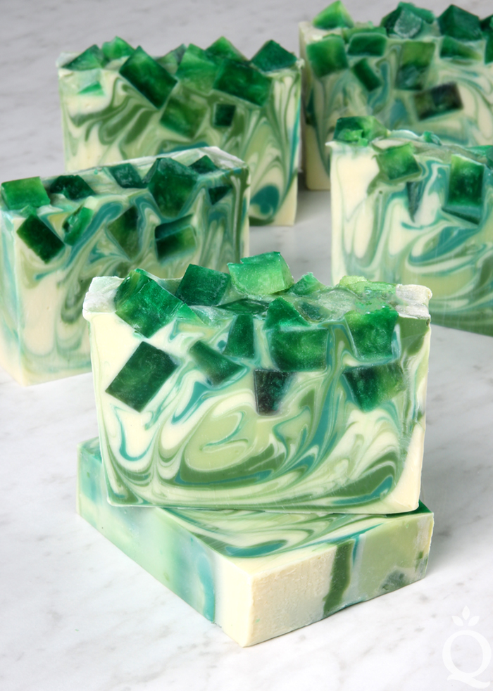Lemongrass Mojito Soap DIY