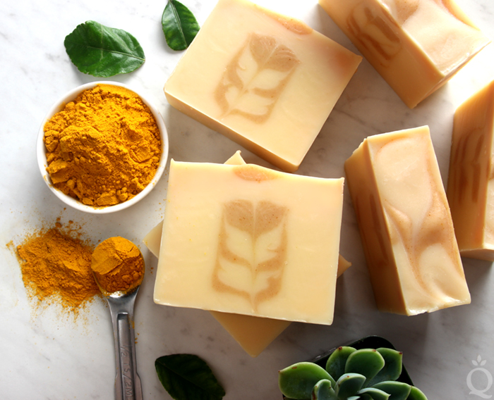 Turmeric Secret Swirl Soap Tutorial