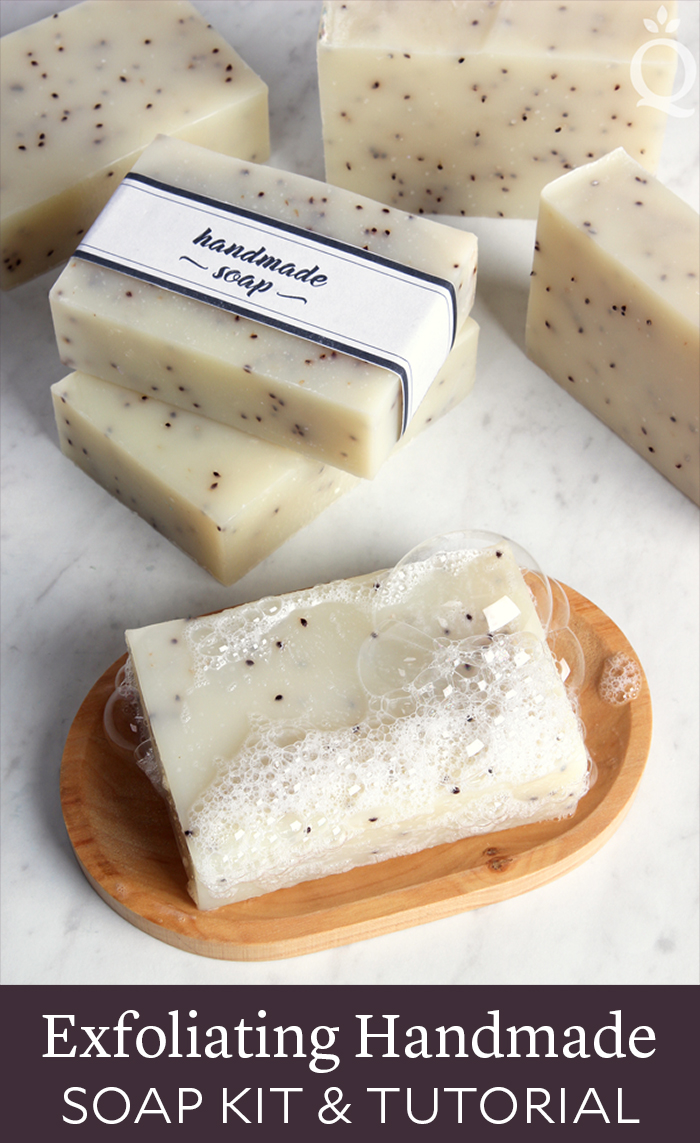 Exfoliating Handmade Soap Tutorial & Kit