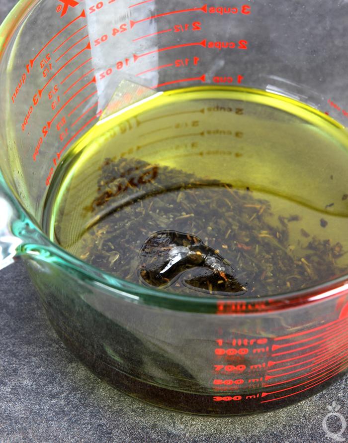 Green Tea Infused Oil