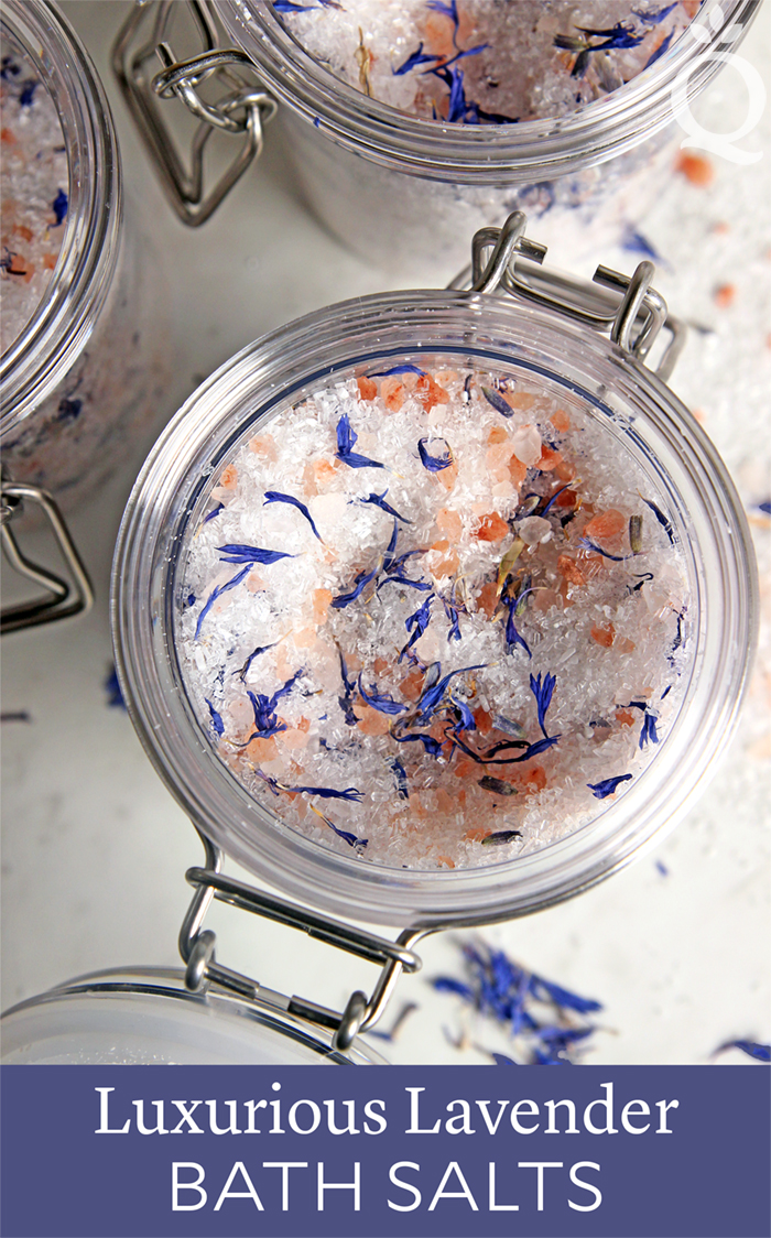 Lavender Bath Salts Tutorial