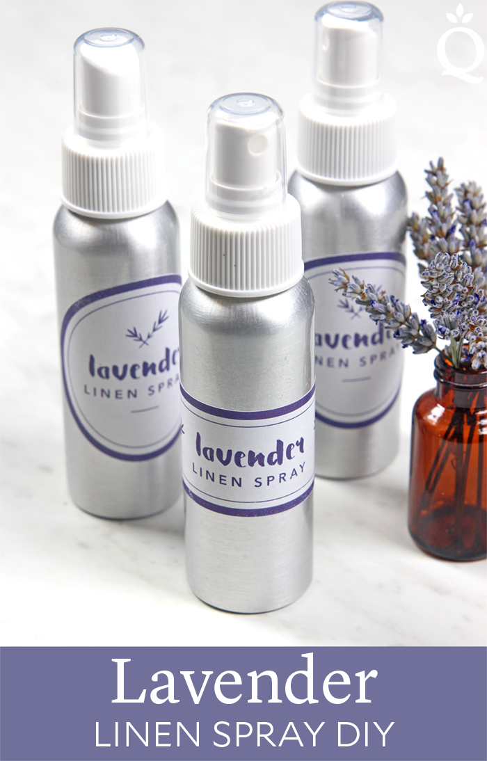 Lavender Linen Spray DIY