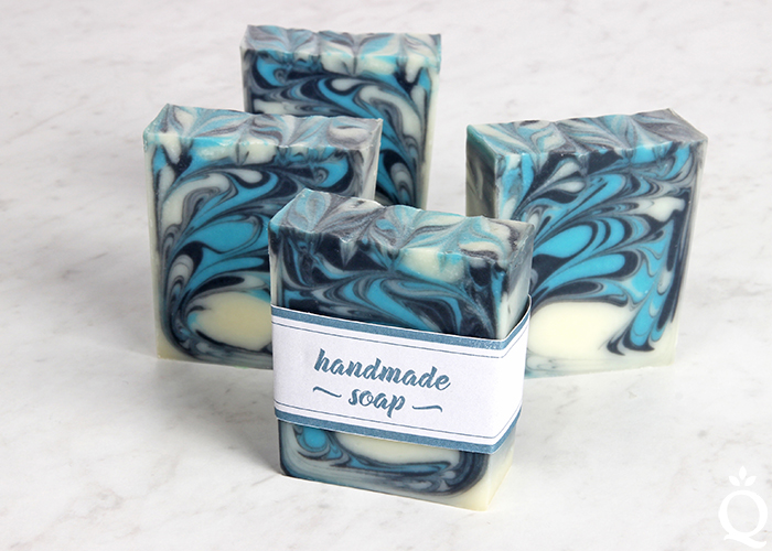 Swirled Handmade Soap Kit & Tutorial