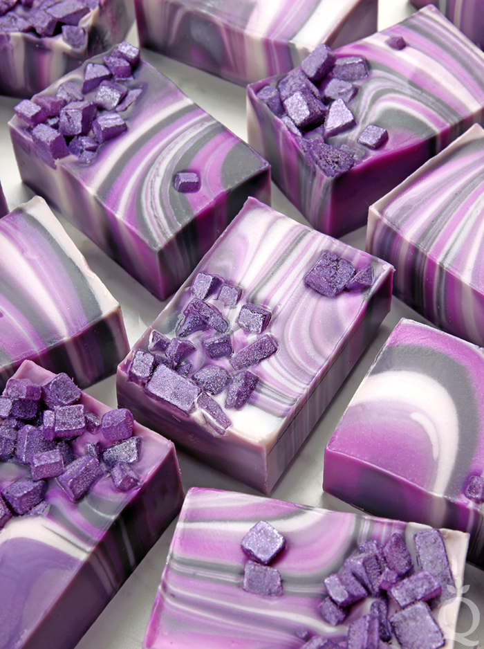 Agate Spin Swirl Soap
