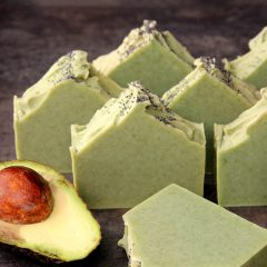 Avocado Spearmint Cold Process Soap Tutorial