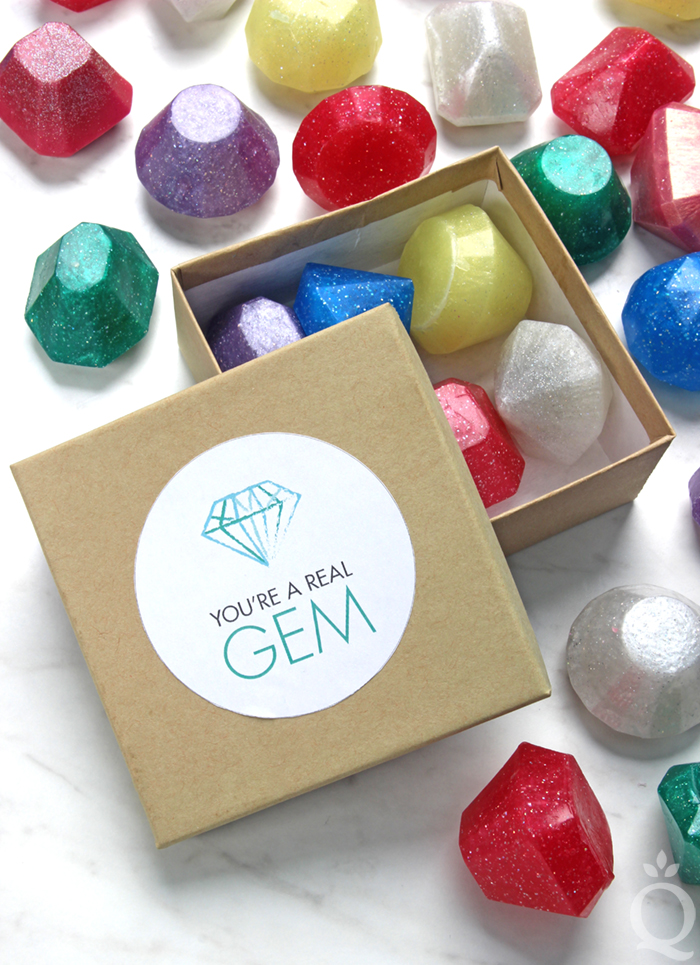 Gem Soap Gift Set Tutorial