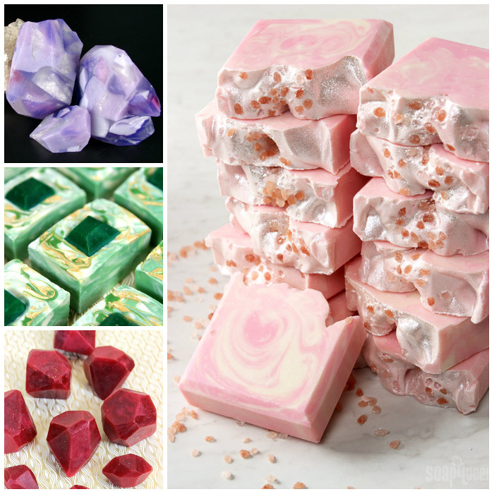 Gemstone and Crystal Inspiration - Soap Queen