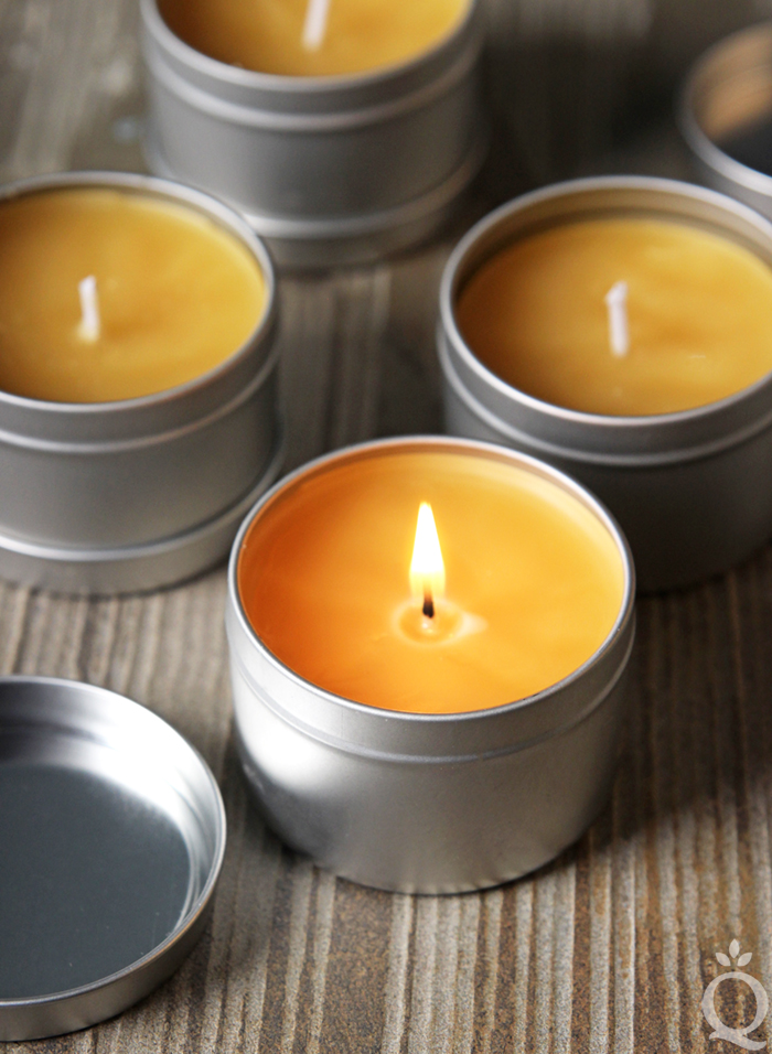 Bourbon Beeswax Candle DIY