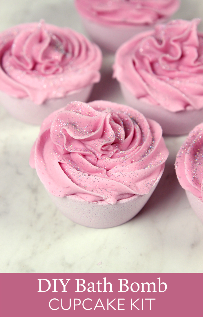 DIY Bath Bomb Cupcake Kit