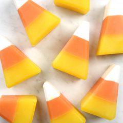 Candy Corn Soap