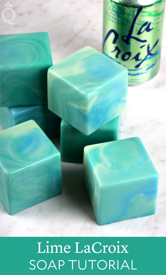 Lime LaCroix CP Soap Tutorial