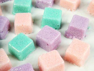 DIY Salt Scrub Cubes