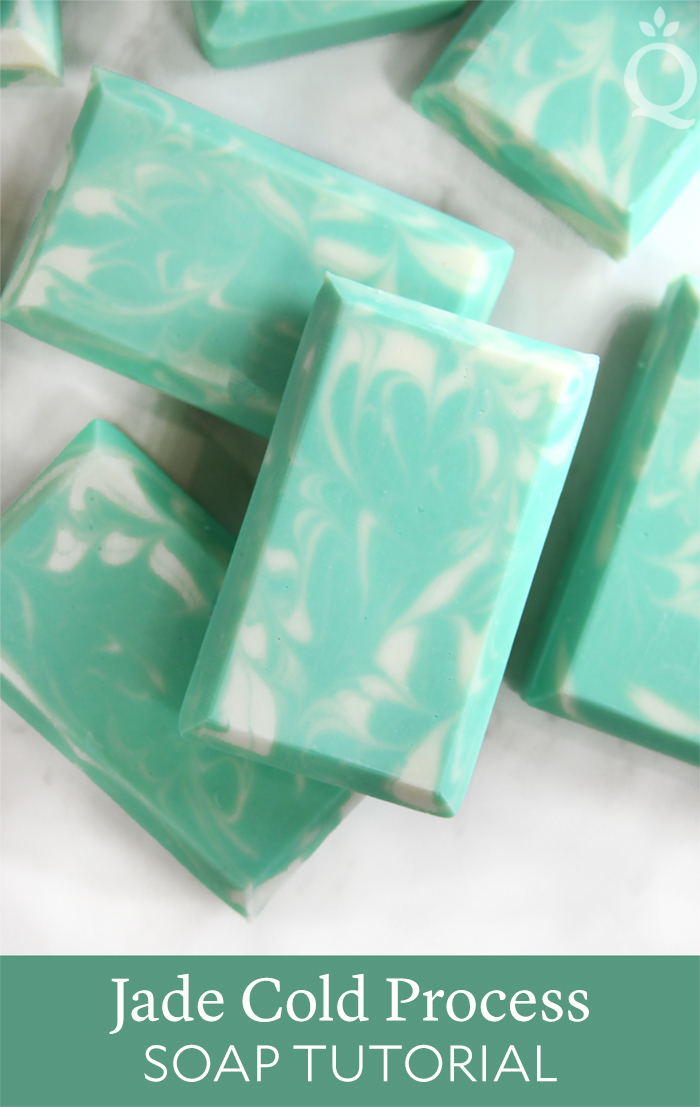 Jade Cold Process Soap Tutorial