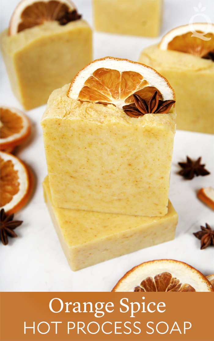 Orange Spice Hot Process Soap Tutorial