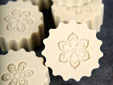 French Green Clay Milk Soap DIY