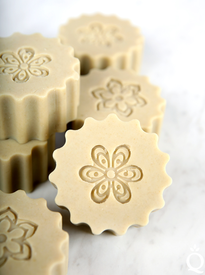 French Green Clay Milk Soap Tutorial