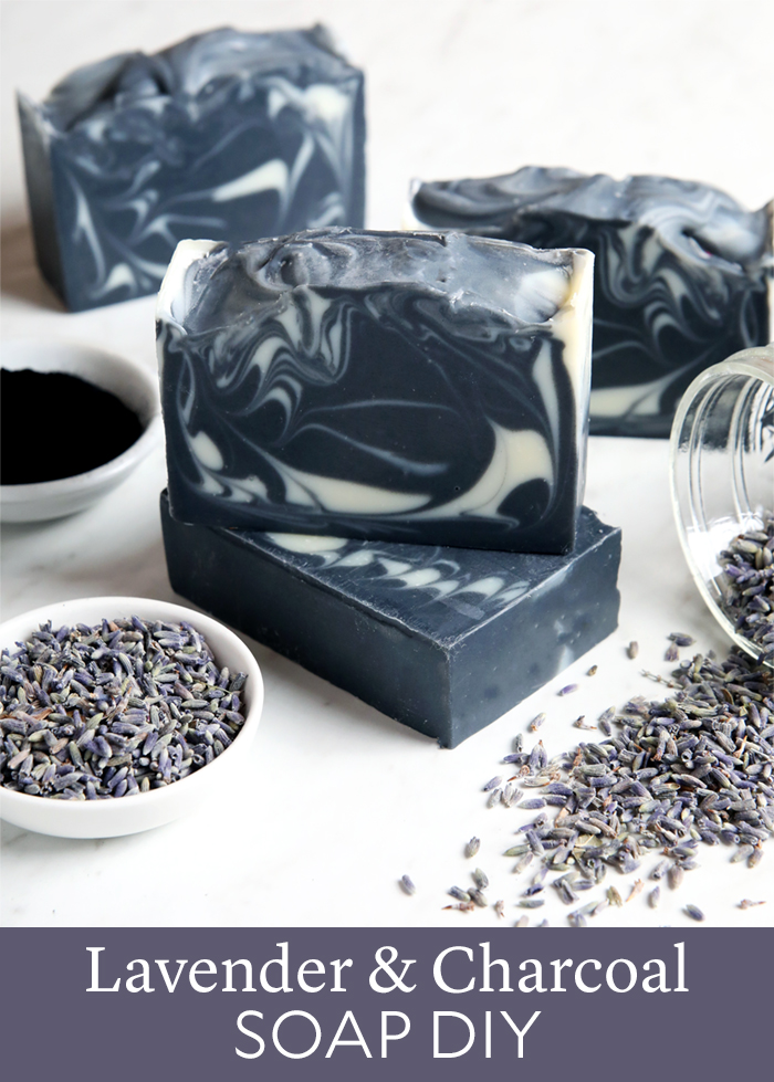 Lavender & Charcoal Soap DIY
