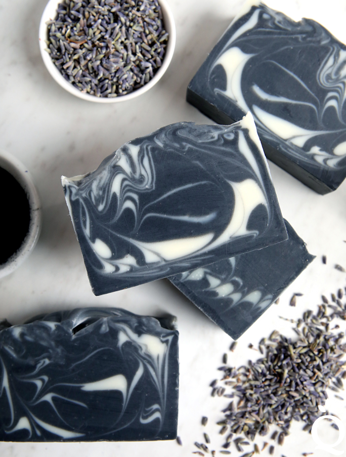 Lavender Charcoal Soap Tutorial