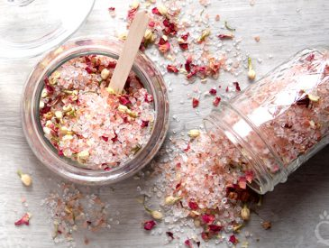 Rose Bath Salt DIY