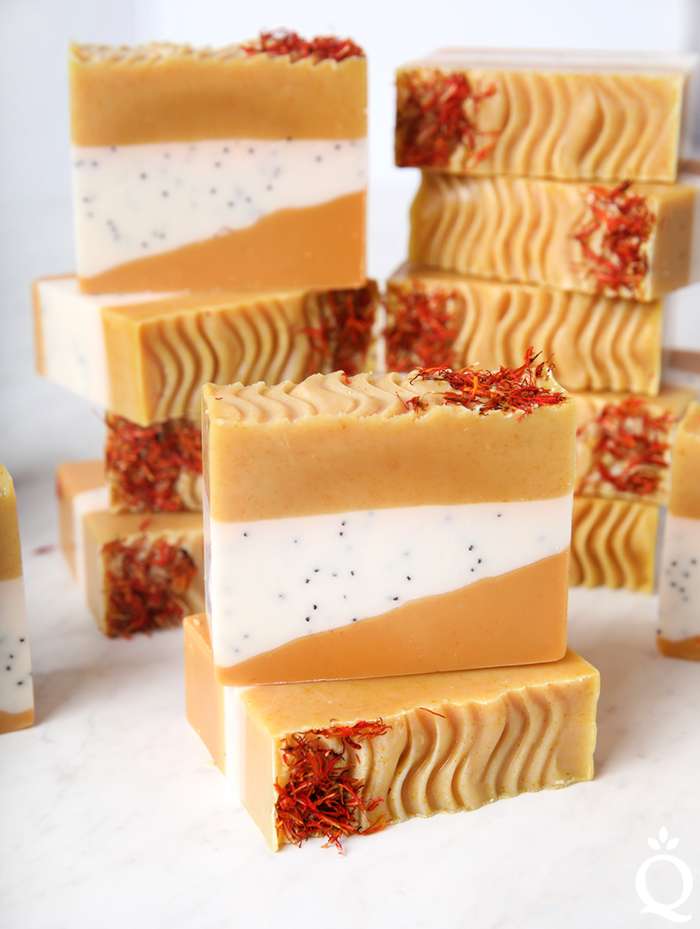 Safflower Ginger Soap DIY