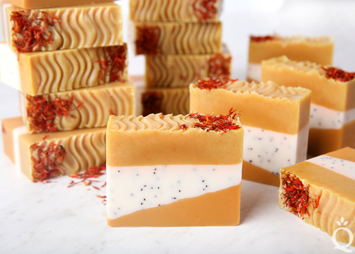 Safflower Ginger Soap