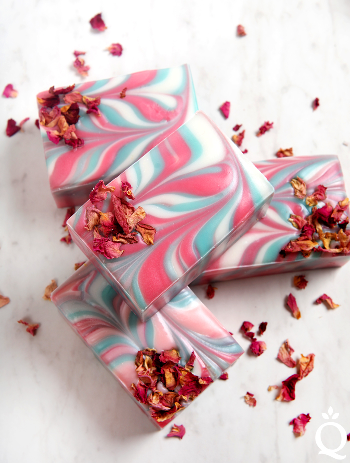 Wild Rose Soap DIY
