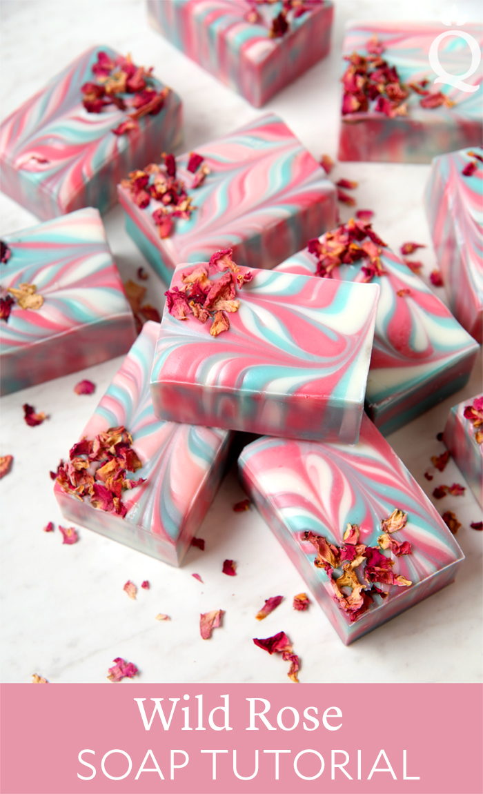 Wild Rose Soap Tutorial