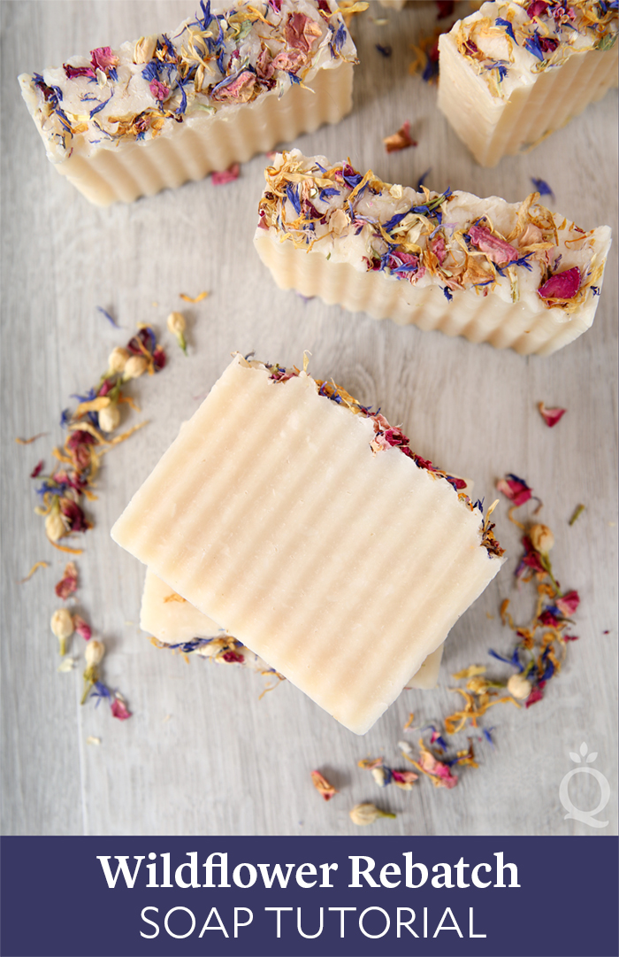 Wildflower Rebatch Soap Tutorial