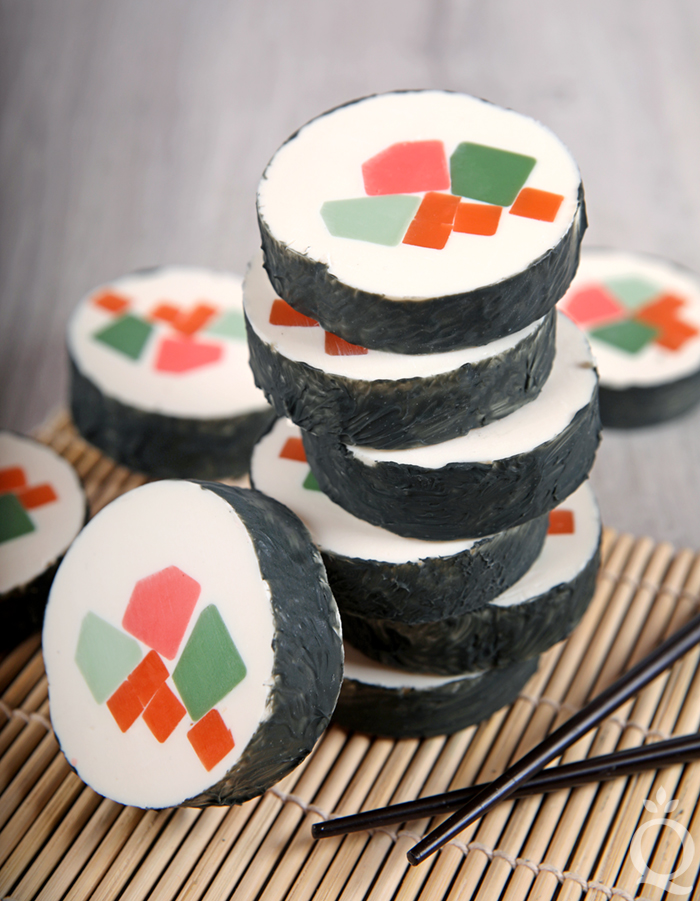 How to Make Sushi Cold Process Soap