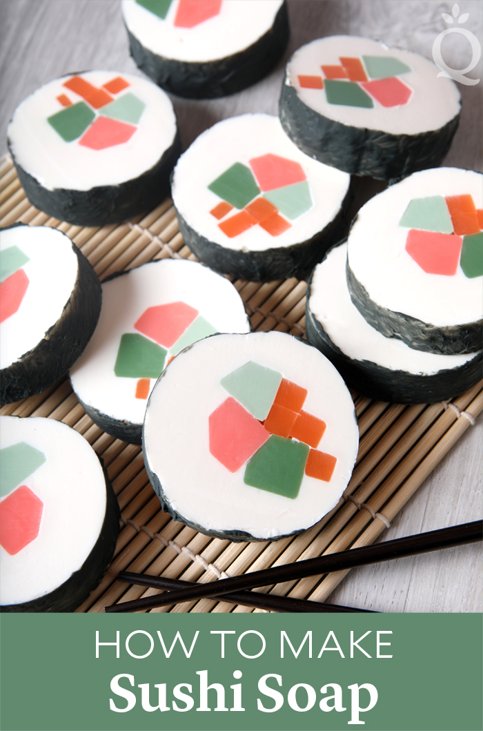 How to Make Sushi Soap